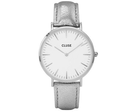 Zegarek damski Cluse La Bohème Silver White/Silver Metallic CL18233
