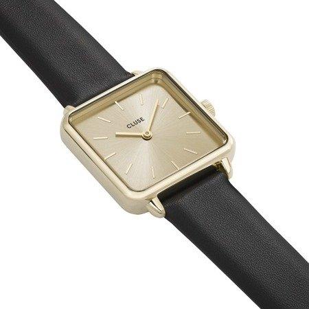 Zegarek damski Cluse La  Tetragone Gold Black Gold CL60004
