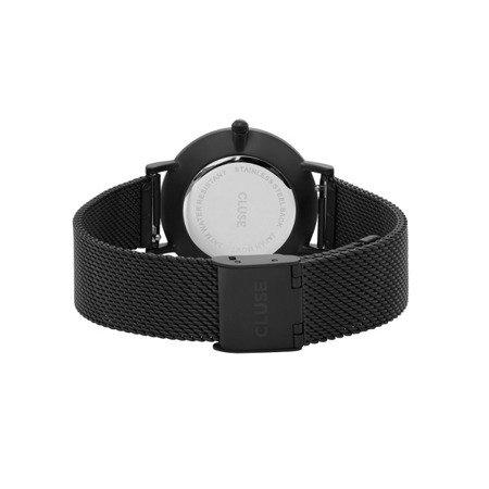 Zegarek damski Cluse Minuit Mesh Full Black CL30011