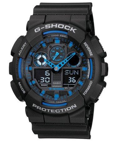 Zegarek męski Casio G-SHOCK GA-100-1A2