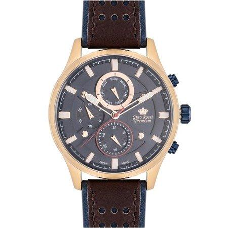 Zegarek męski Gino Rossi Premium S1069A-6B3