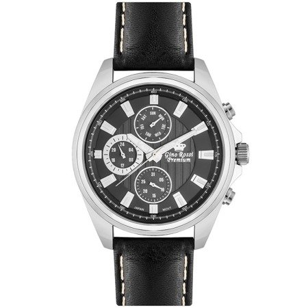 Zegarek męski Gino Rossi Premium S1122A-1A1