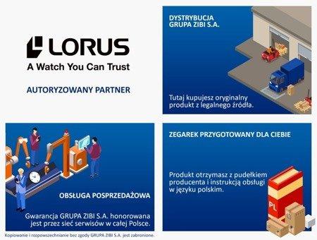 Zegarek męski Lorus RT377GX9